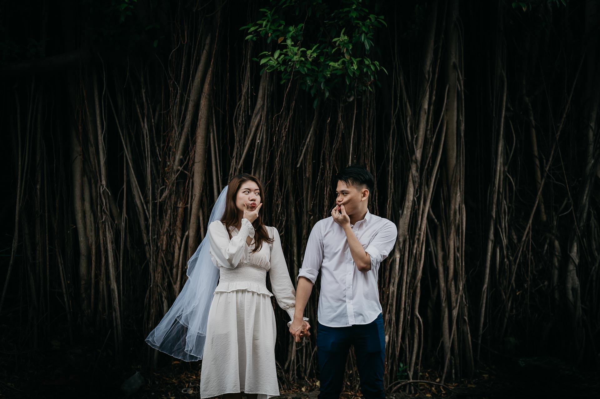 couple shoot by 2 of us weddings